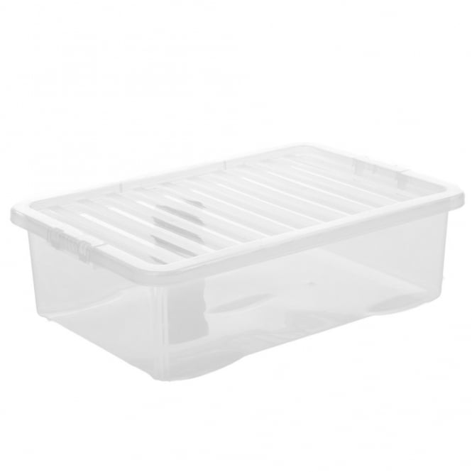Pallet Deal x 100 - 32 Litre Under Bed Boxes with Lids