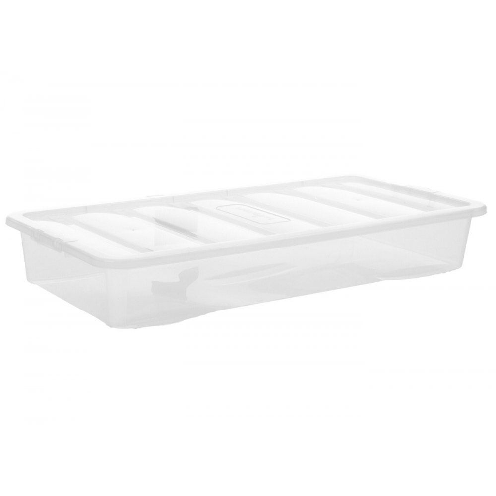 Pallet Deal X 90 55 Litre Shallow And Long Under Bed Boxes With Lids