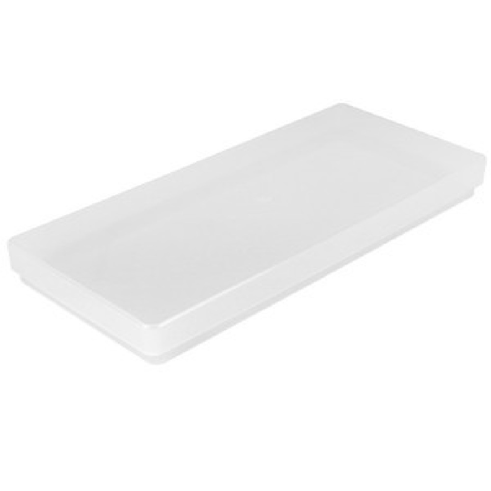 Buy peel off sticker plastic box and lid weston sticker box for Plastic craft boxes with lids