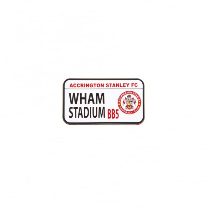 Pin Badge Wham Stadium