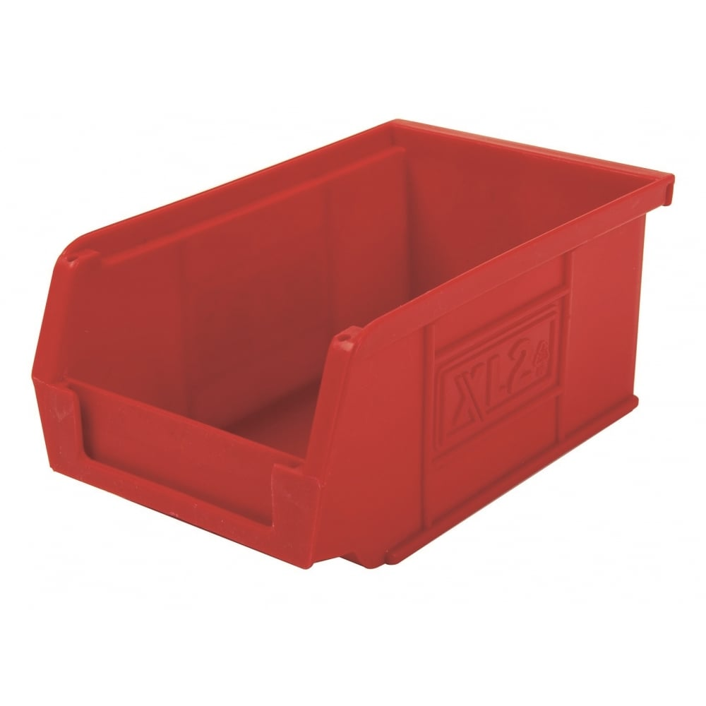 Front Opening Storage Containers Part - 31: Pack Of 20 - XL2 Semi-Open Front Small Parts Plastic Containers. U2039