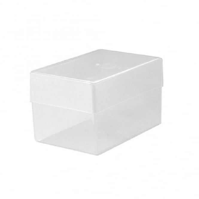 Double Depth Business Card Plastic Storage Box
