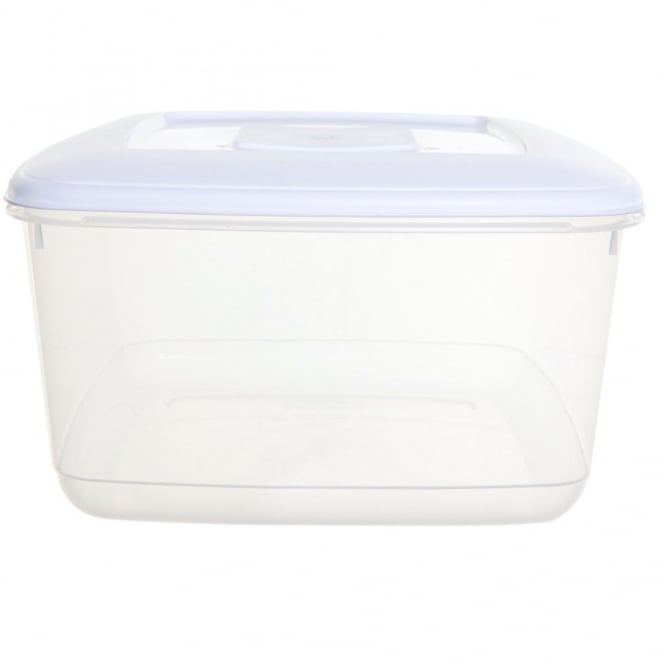 10 Litre Square Plastic Food Cake Storage Box