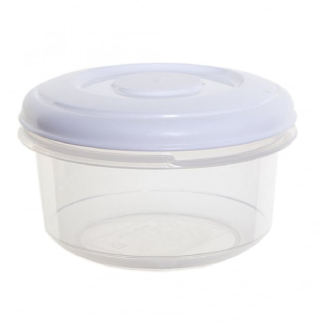 1 Litre Round Food Plastic Storage Box