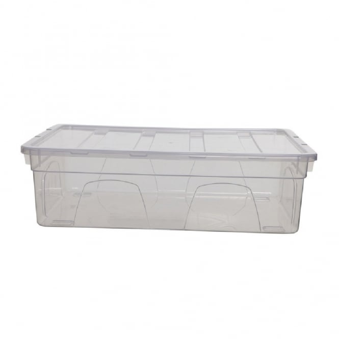 9 Litre (36cm) Spacemaster Mini Plastic Strorage Box and Lid