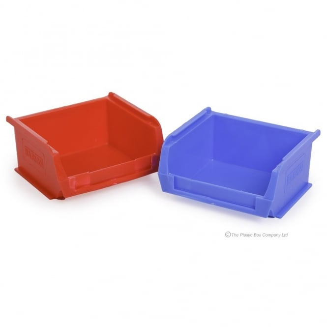 DNU - Pack of 20 - Small Parts/Semi-Open Fronted Plastic Storage Containers (TC1)