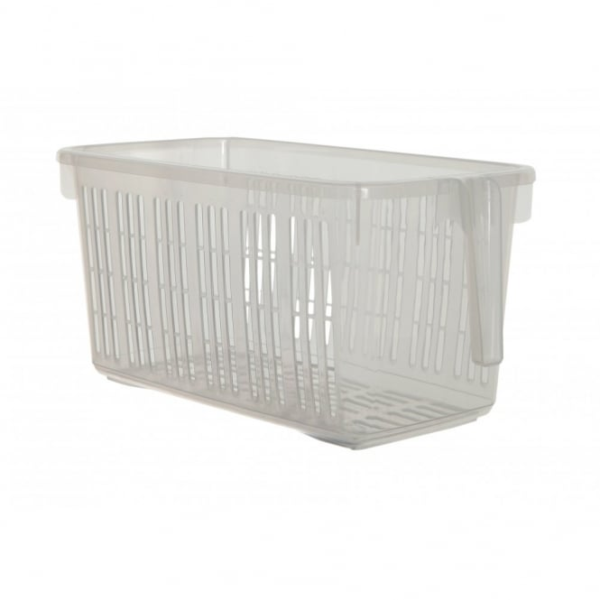 Caddy Basket with Handle Clear - Medium