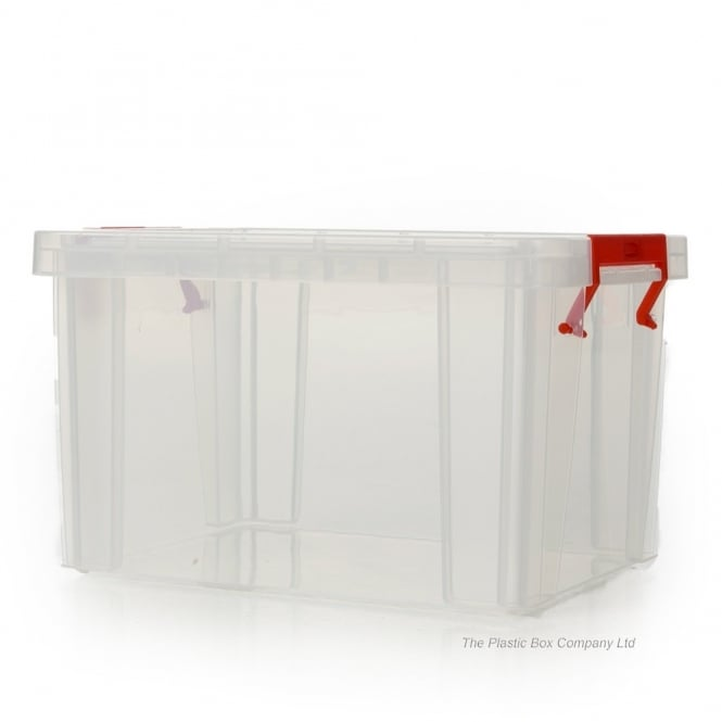 5 Litre Allstore Plastic Storage Box with Clip on Lid