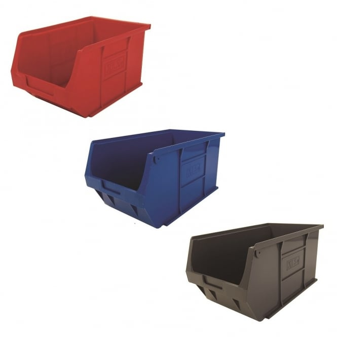 Pack of 10 - XL5 Semi Open Fronted Storage Boxes
