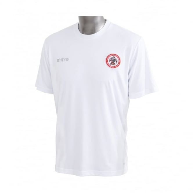 Accrington Stanley Jersey T-Shirt - White