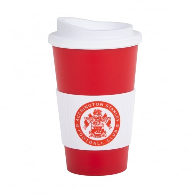 Large Americano Cup with Silicone Band