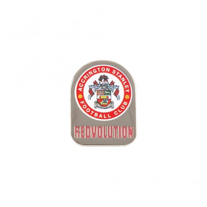 Pin Badge Crest Redvolution