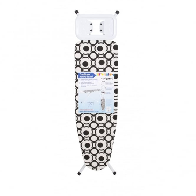 Traditional Ironing Board Black/White