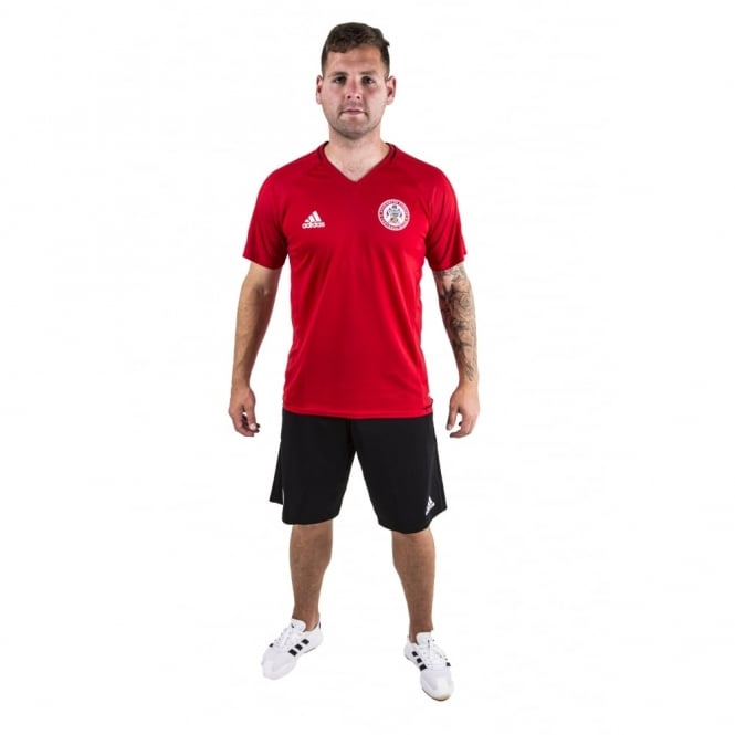 New 17/18 Training Kit - Scarlet T-Shirt - Adult