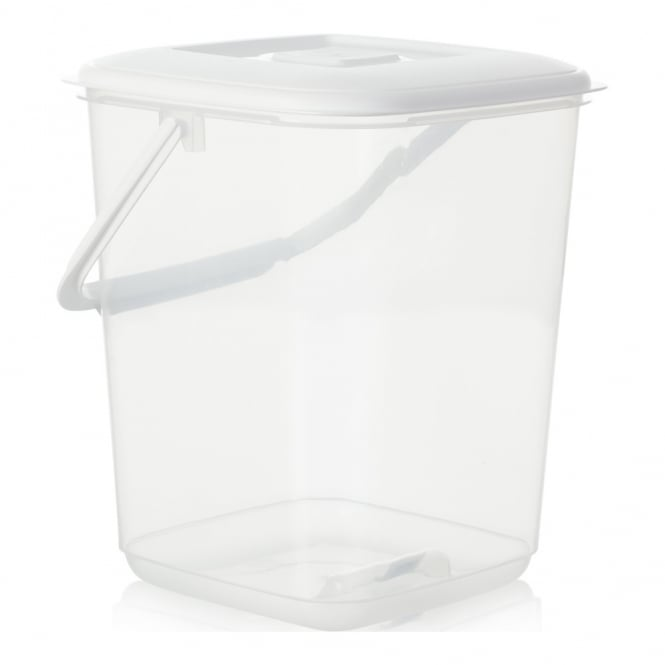 10 Litre Plastic Food Canister With Handle