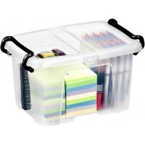 DNU - 6 Litre Strata Smart Storemaster Plastic Storage Box with Lid