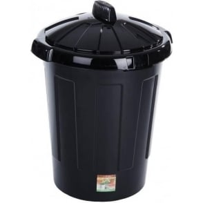 Wham Storage 80 Litre Wham Large Plastic Bin With Snap on Lid