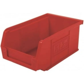 Pack of 20 - XL2 Semi-Open Front Small Parts Plastic Containers