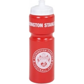 Accrington Stanley Water Bottle ASFC Crest