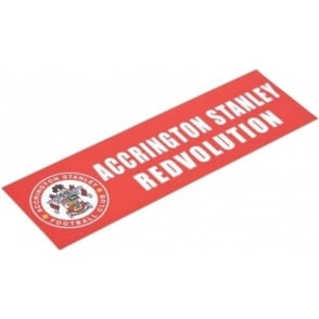 Accrington Stanley Car Sticker ASFC Crest