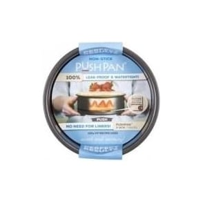 18cm PushPan Non-Stick Shallow Round Tin