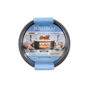 18cm PushPan Non-Stick Deep Round Tin