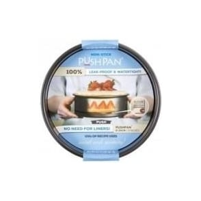 23cm PushPan Non-Stick Shallow Round Tin