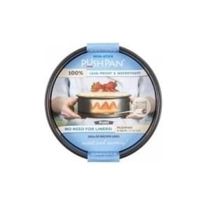 25cm PushPan Non-Stick Shallow Round Tin