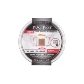 13cm PushPan Aluminium Shallow Tin