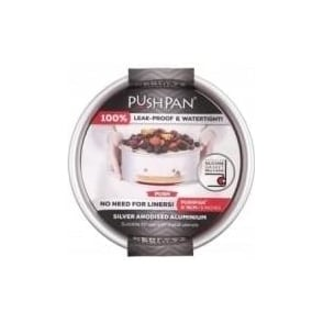 15cm PushPan Aluminium Shallow Tin