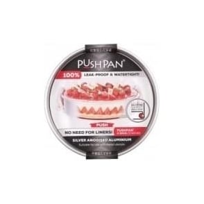 30cm PushPan Aluminium Shallow Tin