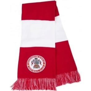 Accrington Stanley Scarf with Round Crest