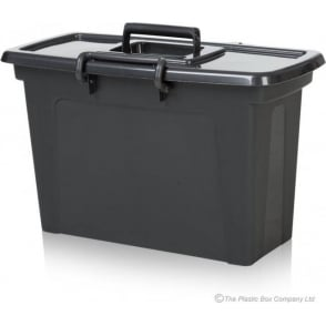 Strata 21 Litre Smart File Box with Lid