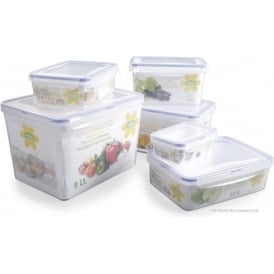 Hobby Life 2.4 LitreRectangular Plastic Food Box With Clip Lid