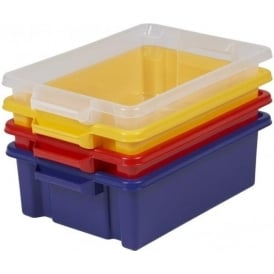 Strata Pack of 5 - Storemaster Plastic Storage Trays (Base Only)
