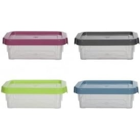 Whitefurze 0.25 Litre Spacemaster Extra Plastic Storage Box