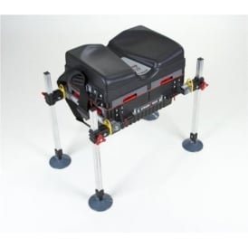 Octoplus Fishing Strong Box with 4 Drawers and Adjustable Legs STD