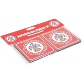 Accrington Stanley Pack of 4 Drinks Coasters