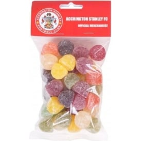 Accrington Stanley Sweets W/header American Hard Gums