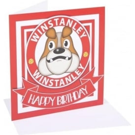 Accrington Stanley Birthday Card Winstanley
