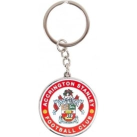 Accrington Stanley Keyring ASFC Crest