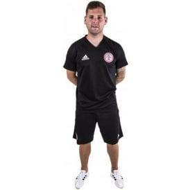Accrington Stanley New 17/18 Training Kit - Black T-Shirt - Adult