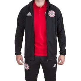 Accrington Stanley New 17/18 Black Training Jacket - Adult