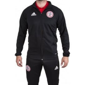 Accrington Stanley New 17/18 Black Training Jacket - Child