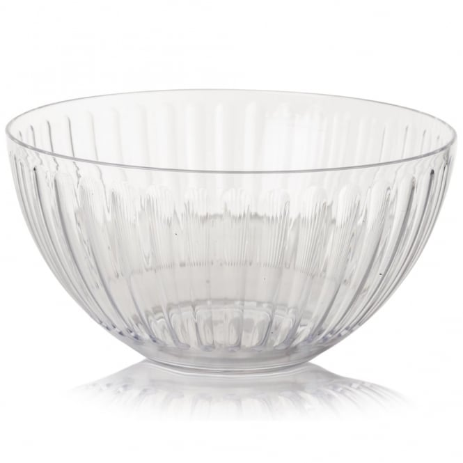 Buy Plastic Roma Large Bowl Clear