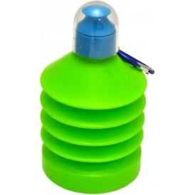 Shrinkable 500ml Plastic Water Bottle Green/Blue