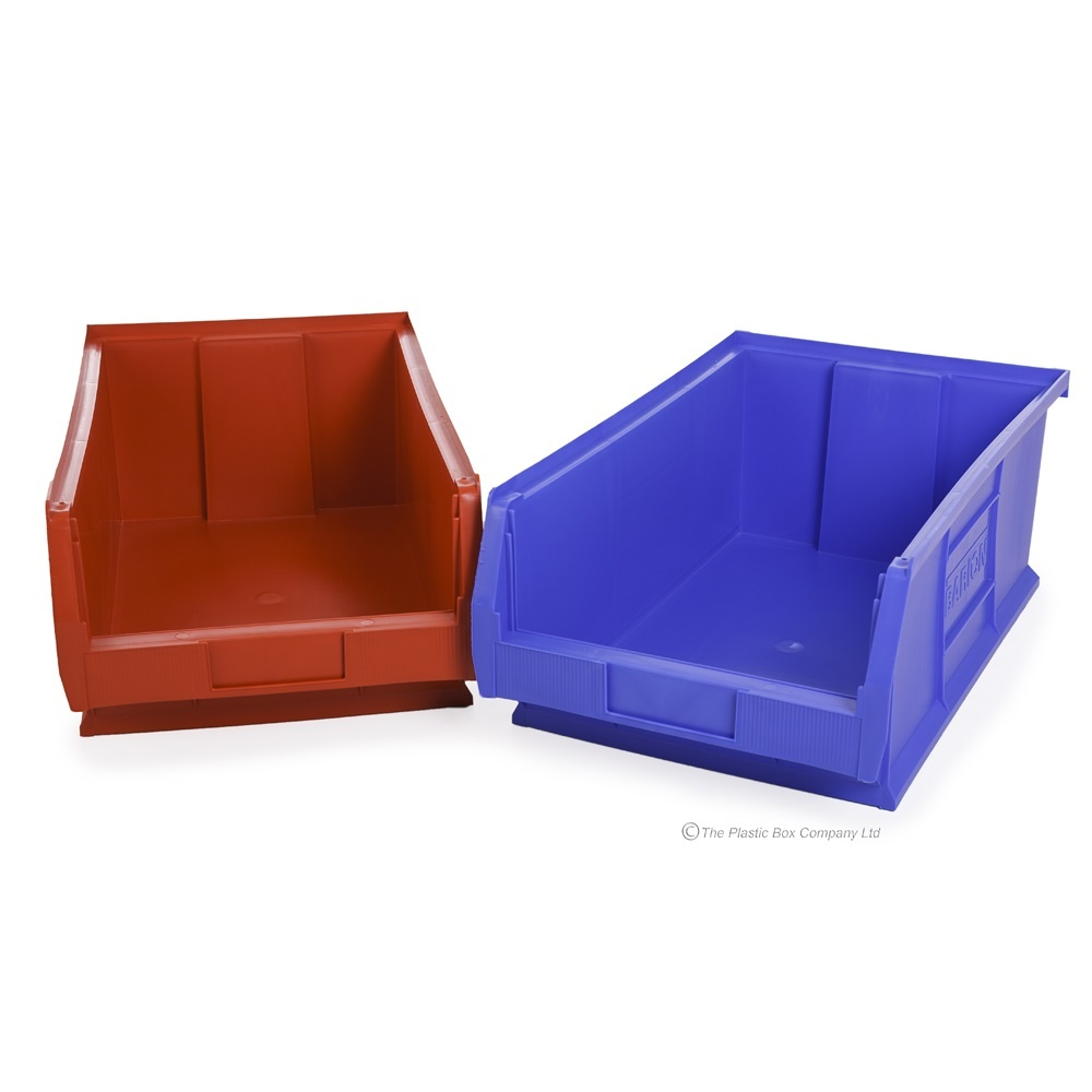 Small Parts/Semi Open Fronted Plastic Storage Containers (TC4) (Box Of