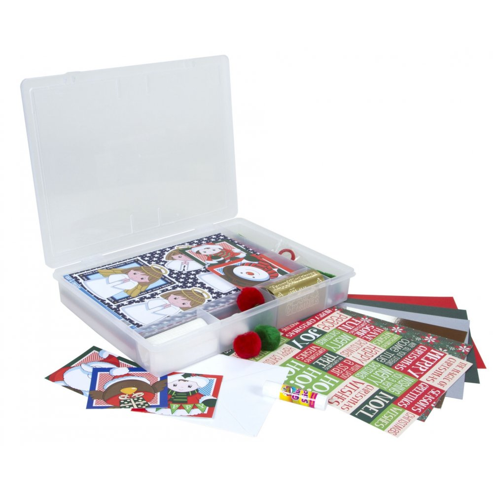 Wham Craft Time - Kids Christmas Card Making and Craft Set (12980)